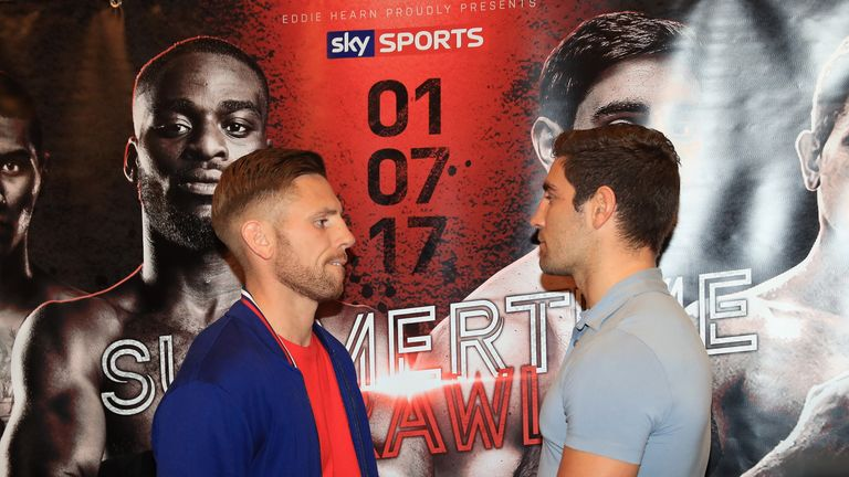 Summer believes Buglioni is fully focused on his first British title defence