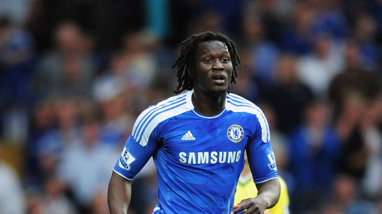 Romelu Lukaku joined Chelsea in 2011