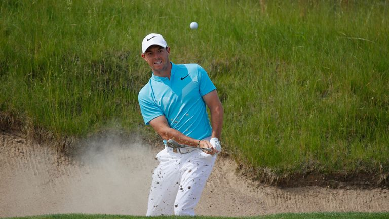 Rory McIlroy missed the cut at Erin Hills