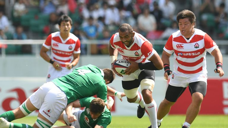 Michael Leitch will captain a much-changed Japan side