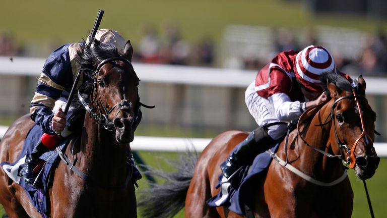 Salouen (right): Entered in Lingfield feature