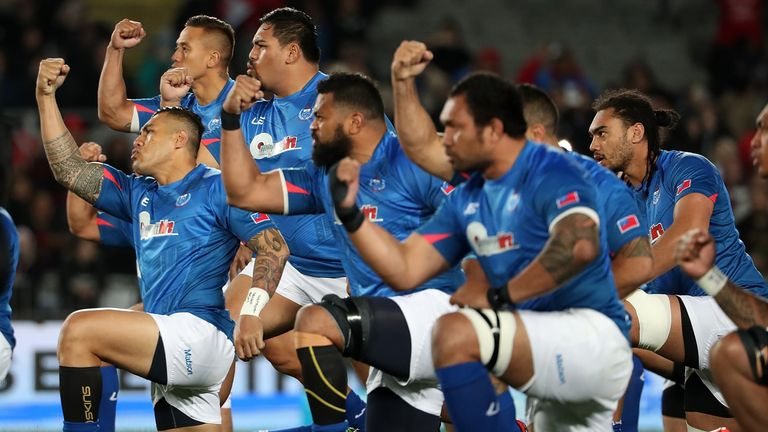 Samoa are due at Twickenham on November 25