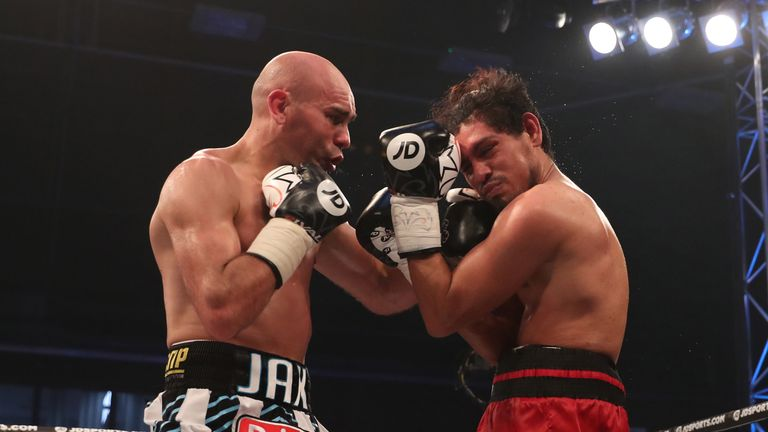 Stuart Hall earns a points victory on his return against Jose Aguilar