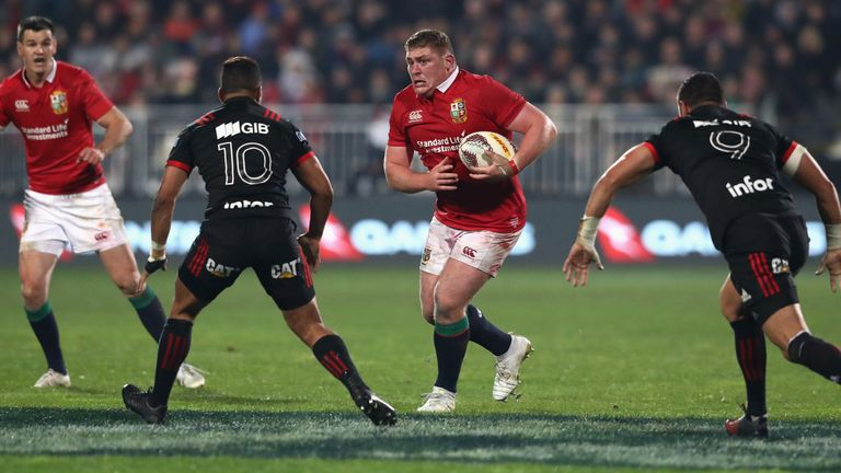 Tadhg Furlong highlighted again how important the Lions is to all selected