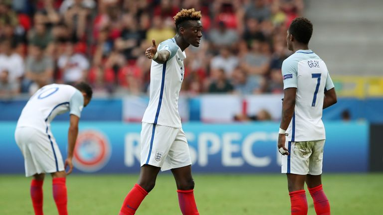Tammy Abraham (pictured) and Redmond saw their penalties saved
