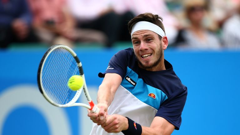 Cameron Norrie is aiming for a debut appearance in the US Open