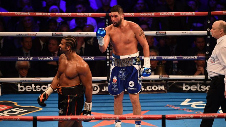 Bellew beat Haye in their first meeting back in March