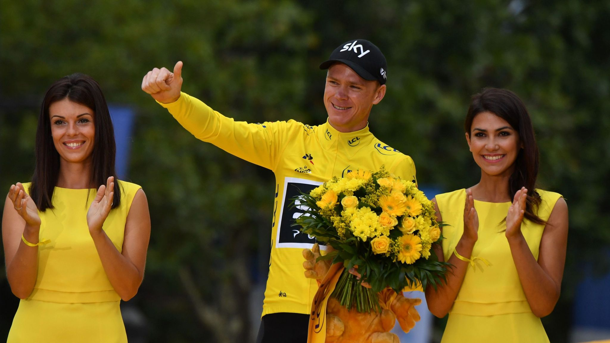 Tour de France champion Chris Froome pays tribute to 'flawless' Team Sky