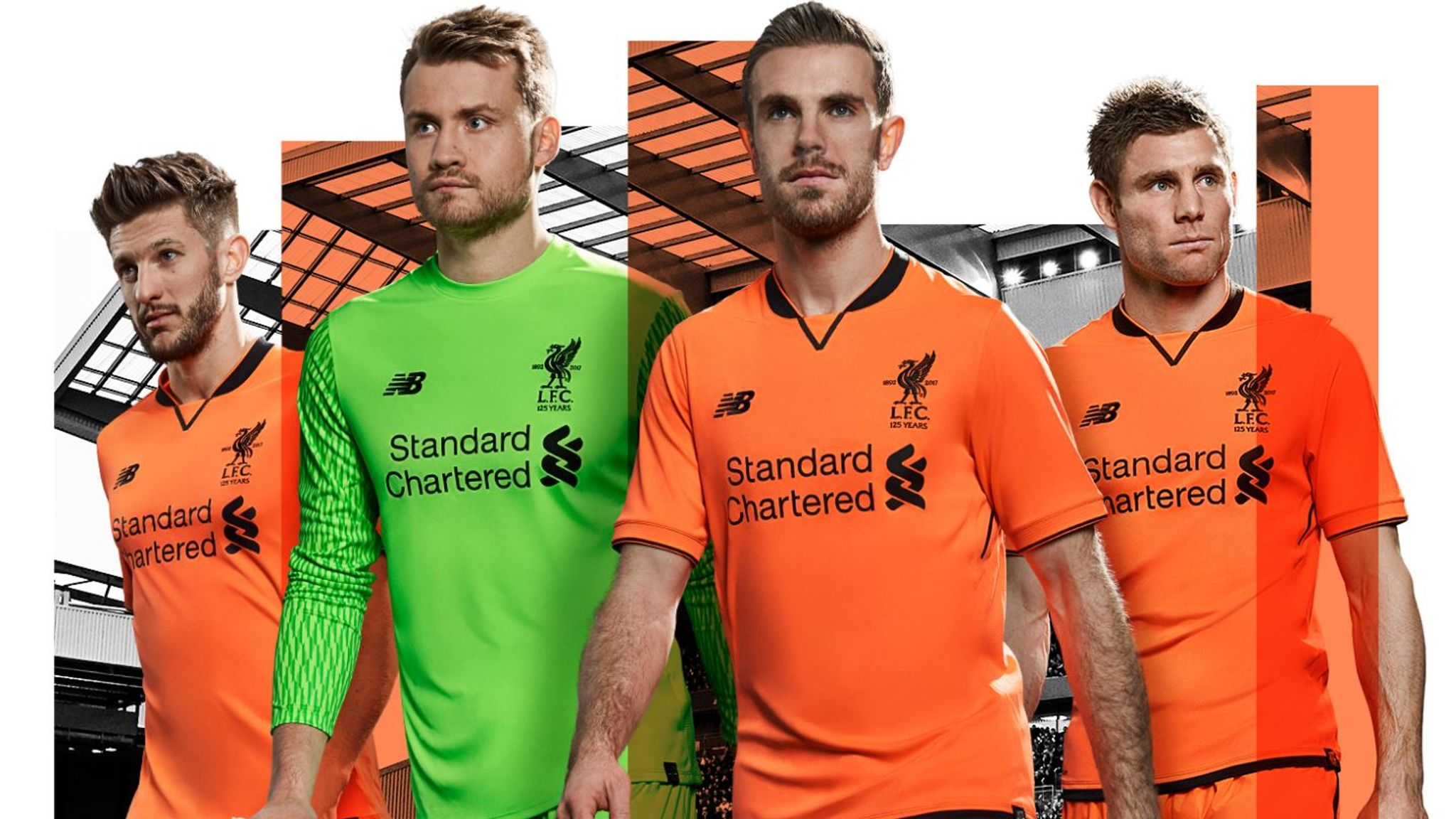 77f51ec61c2 New football kits: Premier League strips for the 2017/18 season | Football  News | Sky Sports