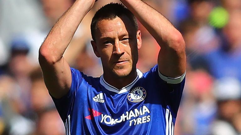 Terry made 492 appearances for Chelsea during 19 years