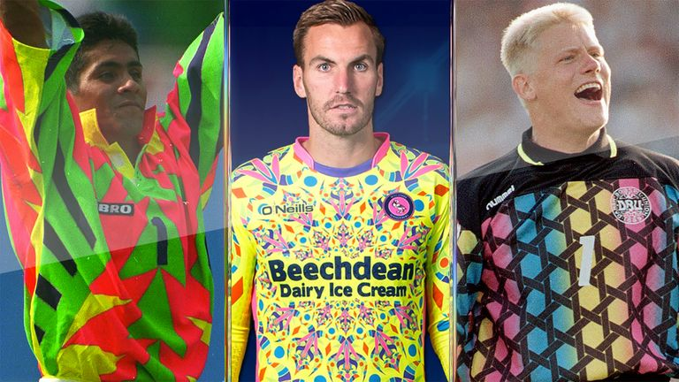 2ef93a66f7e Wycombe Wanderers have released a psychedelic new goalkeeper kit designed  to put off opposition strikers but is it the most garish ever?