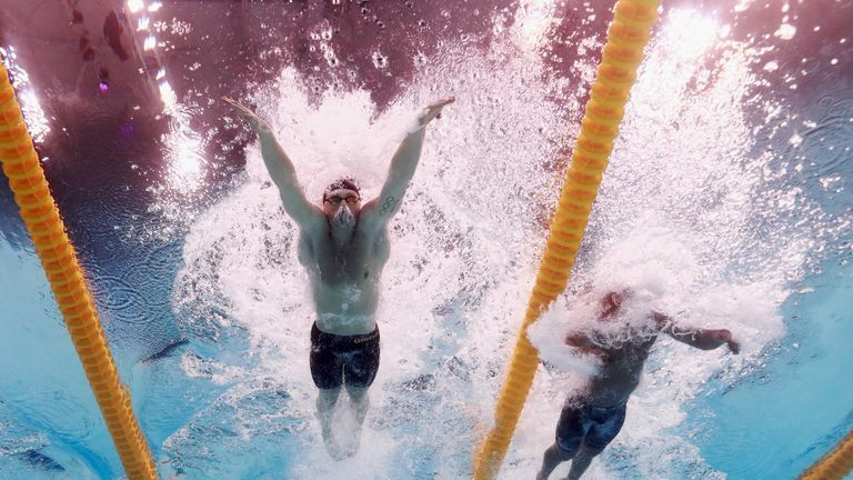 Adam Peaty owns the 10 fastest swims in the history of the men's 100m breastroke