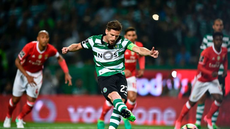 Adrien Silva seems to be closing on a move to the Premier League from Portugal
