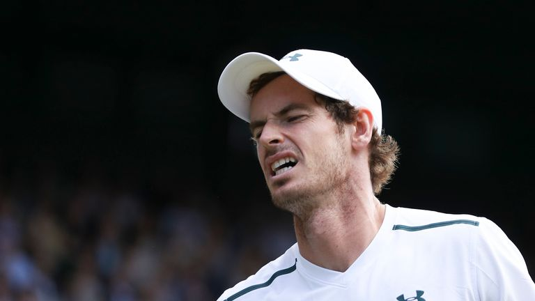 Andy Murray is still recovering from the hip injury which plagued his Wimbledon tournament this year