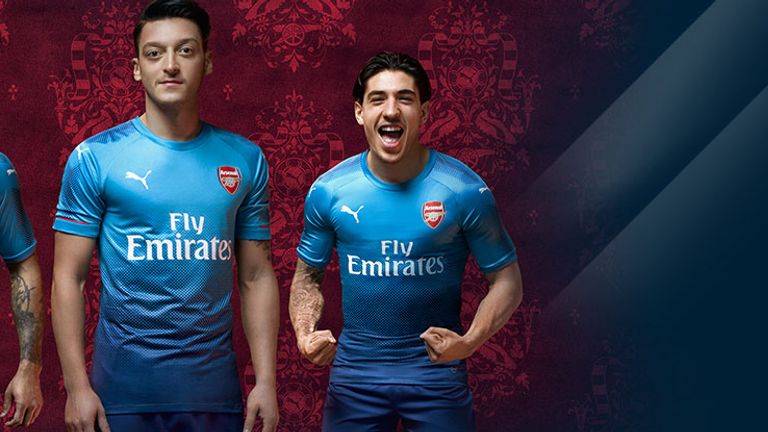 fc17a7bf4 Arsenal have released their new away kit for the 2017 18 season (credit