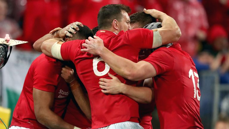 The Lions levelled the series with a 24-21 victory at the Westpac Stadium in Wellington