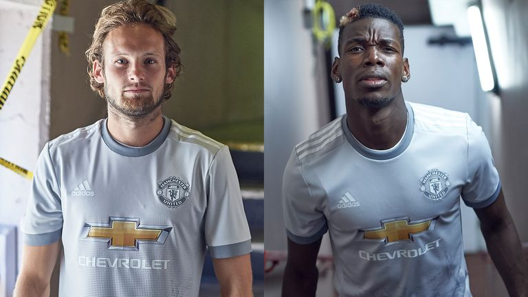 17e827e0667 Manchester United have released a new grey third kit (credit   adidasUK)
