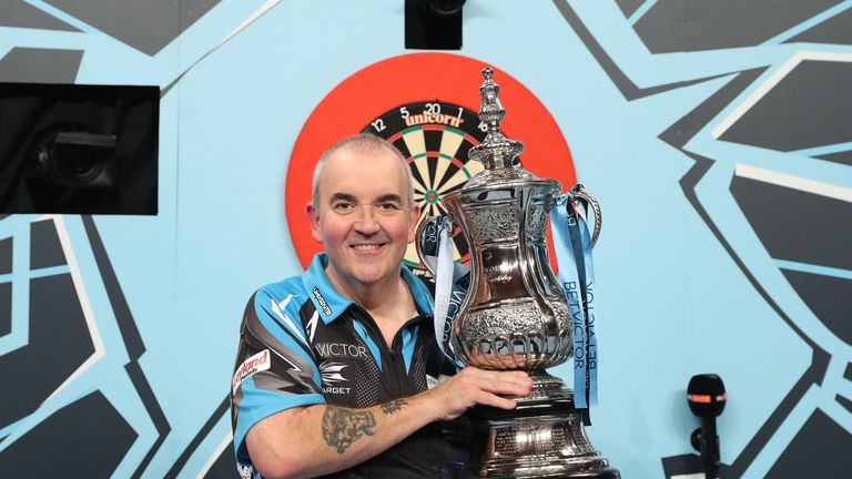 Phil Taylor beat Van Gerwen to win his 13th World Matchplay last year, he will be part of the Sky Sports team in Blackpool this year