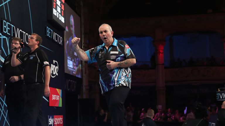 Phil Taylor boasted an astonishing record at the World Matchplay