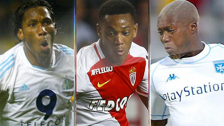 How did the likes of Didier Drogba (left), Anthony Martial and Djibril Cisse get on after swapping Ligue 1 for the Premier League?