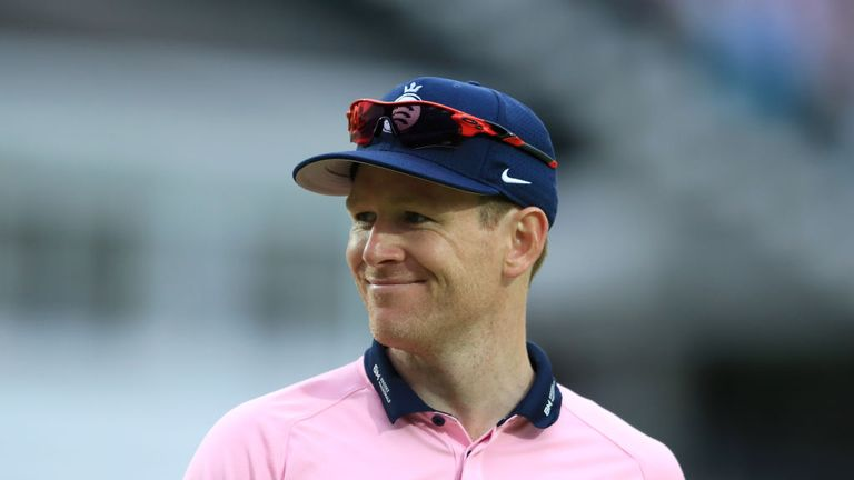 Eoin Morgan thrashed 59 for Middlesex in a losing cause