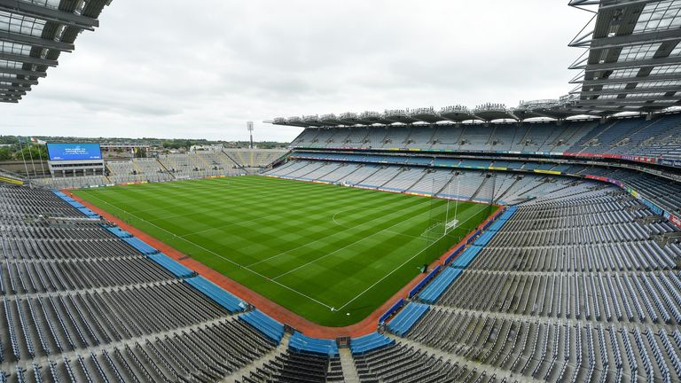 The 82,000-capacity Croke Park would host the semi-finals and final