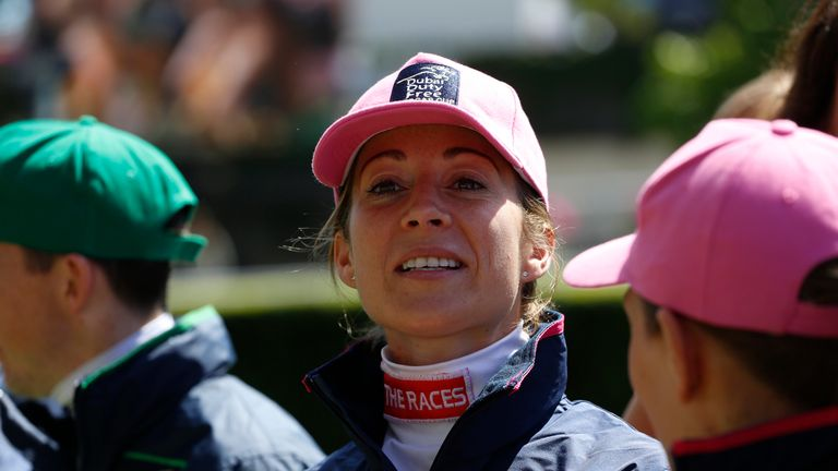 Hayley Turner leads a strong Girls team at the Shergar Cup
