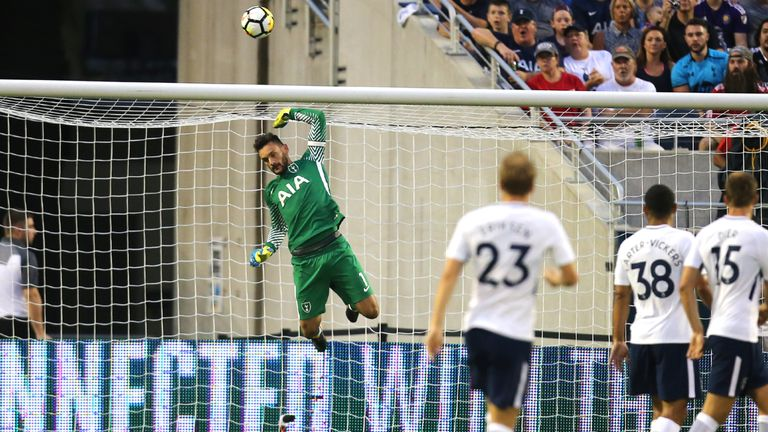 Hugo Lloris played as Spurs beat PSG 4-2 in their opening friendly in Orlando