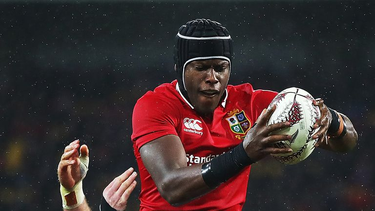 Maro Itoje was at the heart of the Lions throughout the tour