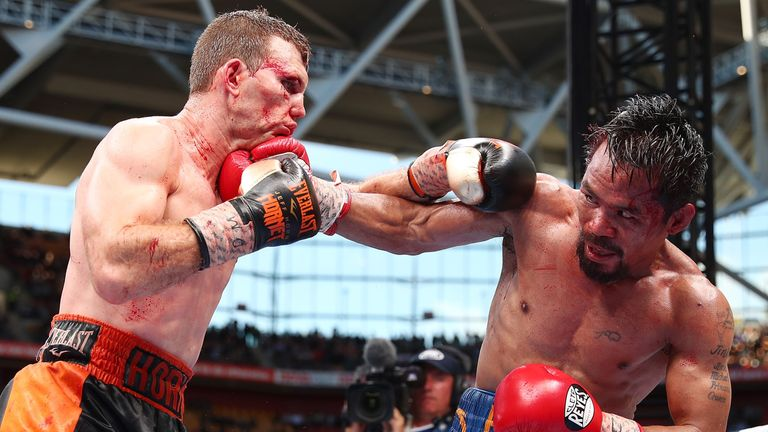 Jeff Horn defeated Manny Pacquiao in a bruising encounter to claim the WBO welterweight title in Brisbane