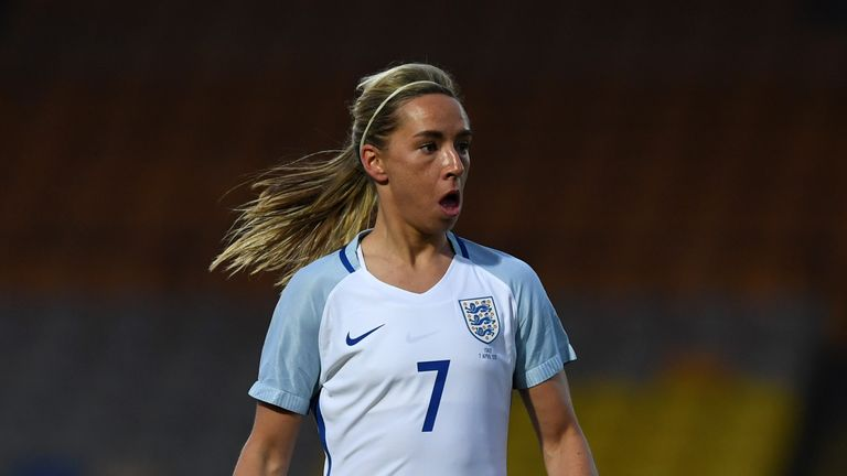 Jordan Nobbs took the WSL players' player of the year prize