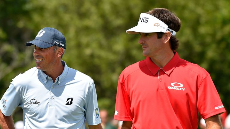 Matt Kuchar and Bubba Watson were playing partners for the opening two rounds