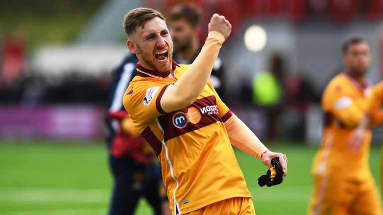 Moult has scored 50 goals in 98 appearances for Motherwell