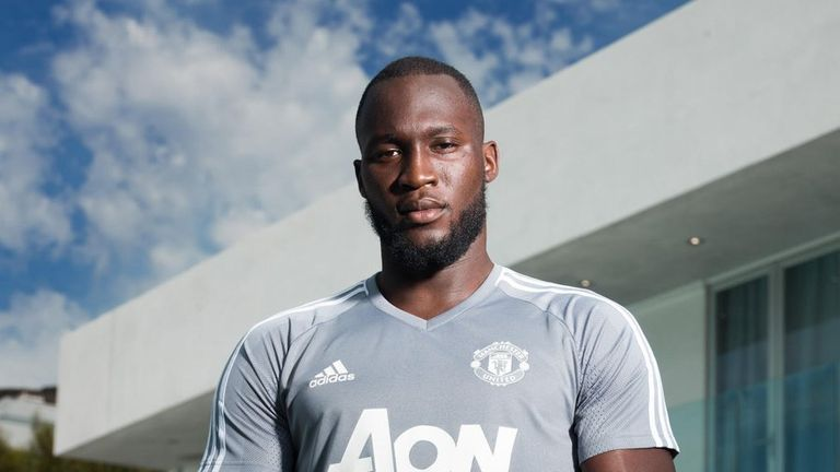 7488c4ec1bcf Romelu Lukaku has joined Manchester United on a five-year contract. Photo:  Twitter