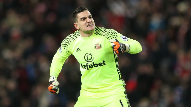 Vito Mannone is set to to leave Sunderland