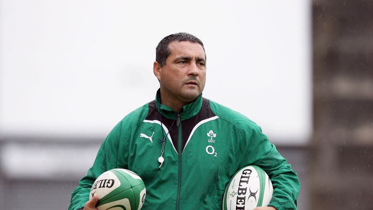 Former Ireland coach Michael Bradley has taken over at the new Zebre