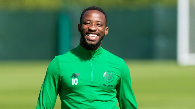 Moussa Dembele will be return to Celtic's squad to face Ross County this weekend