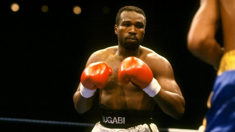 'The Beast' was part of boxing's golden area in the 1980s