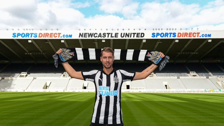 Florian Lejeune is Newcastle's second summer signing
