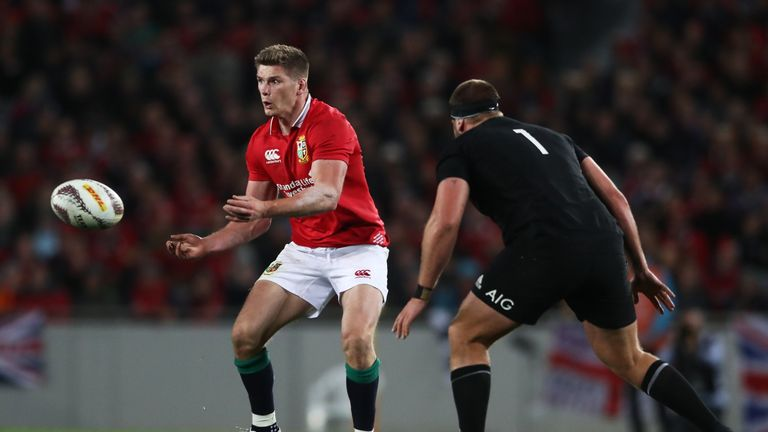 Farrell was part of the Lions team that beat New Zealand in Wellington last year