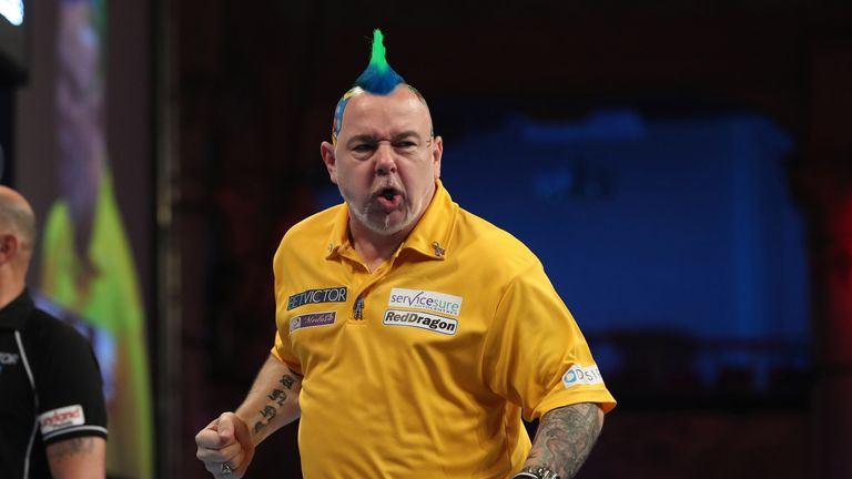 Peter Wright reached his maiden World Matchplay final