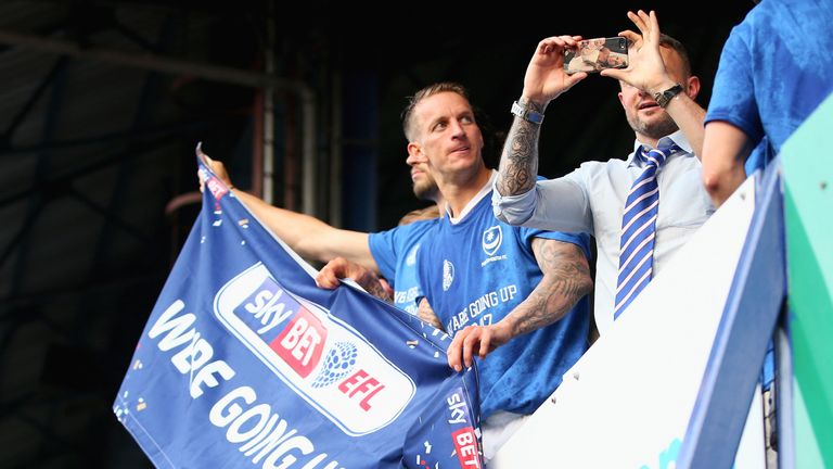 Portsmouth secured promotion to Sky Bet League One last season, after four years in League Two