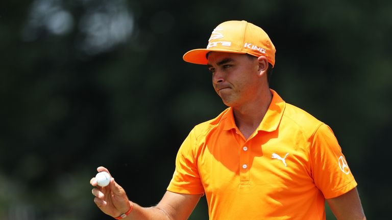 Fowler is instantly-recognisable during a final round on a Sunday as he dons his Oklahoma State University orange