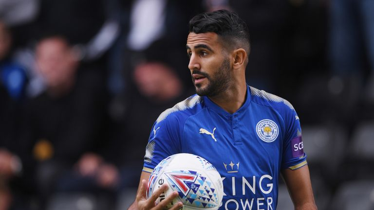 Mahrez was named the 2016 PFA Player of the Year