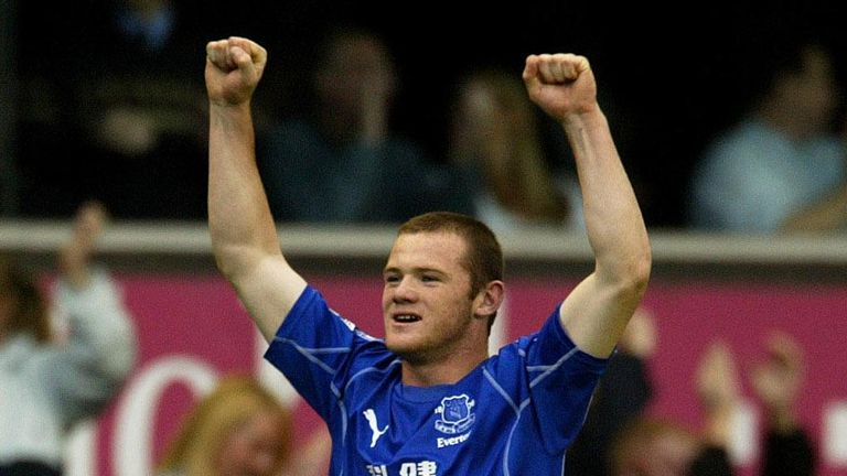 Wayne Rooney burst onto the Premier League stage with a  last-minute winner against Arsenal in 2002