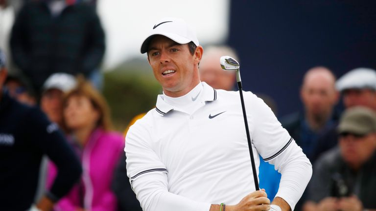 McIlroy mixed three birdies with a sole double-bogey