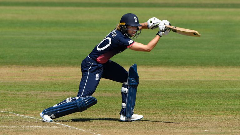 Sarah Taylor amassed 396 runs in the World Cup, with a best of 147 against South Africa