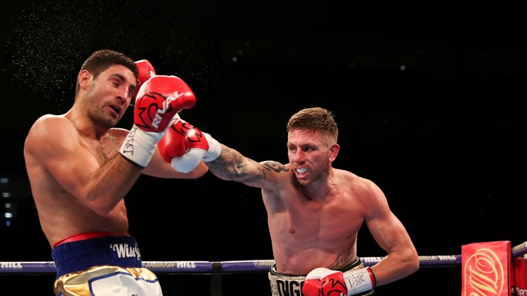 Ricky Summers proved he belongs at domestic level despite losing out to Frank Buglioni