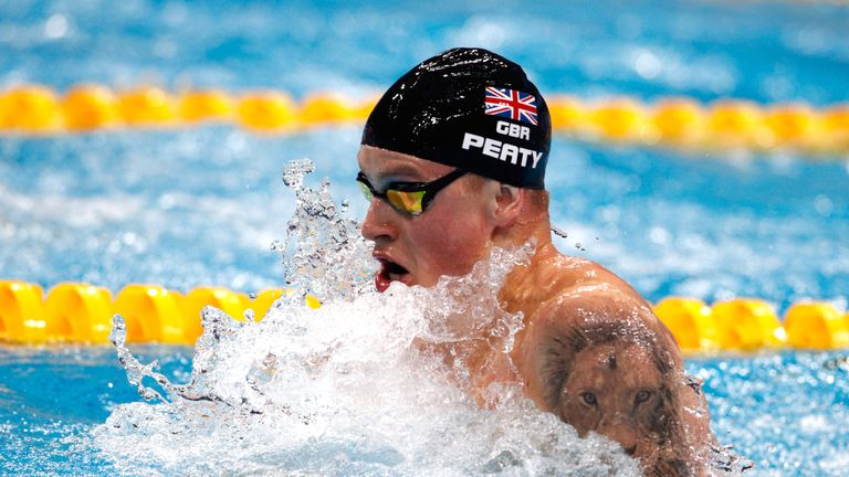 A sensational leg from Adam Peaty could not quite lift the British team to gold