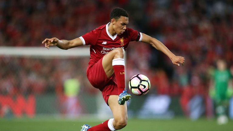 Trent Alexander-Arnold is highly rated by Phil Thompson